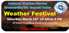 Weather Festival header logo