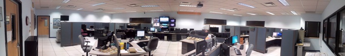 Panorama view of the NWS Brownsville/RGV reconfigured operations area