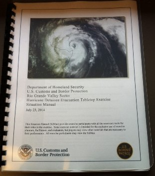 Photo of the front cover of the Situation Manual