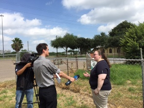 Erin Billings, Acting Observation Program Leader, discusses the importance of the cooperative observer program with KRGV Channel 5 News