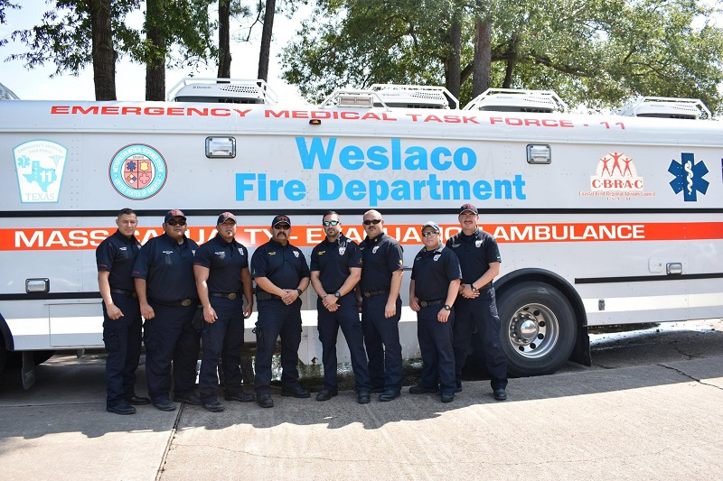 City of Weslaco/EMTF-11/CBRAC Evacuation Ambulance