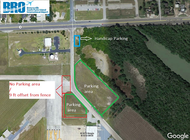Parking map for Weather Festival 2019
