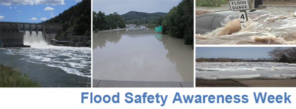 flood safety awareness week 2013 banner - terms