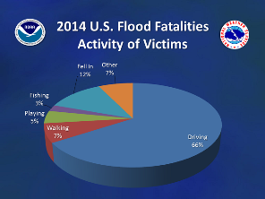 2014 Nationwide flood/flash flood fatalities by activity (click to enlarge)