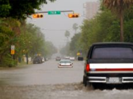 Urban Flooding, City of Brownsville in the summer of 2008