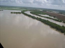 River Flood photo example, Starr County July 2010