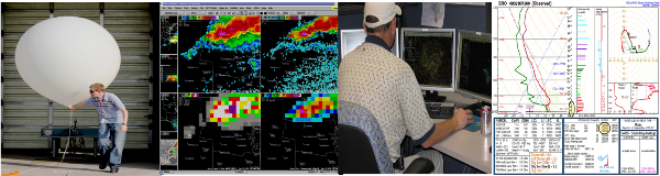 Research banner, photograph and image melange for NWS Brownsville