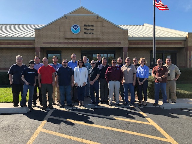 NWS Brownsville/Rio Grande Valley staff photo, February 2019