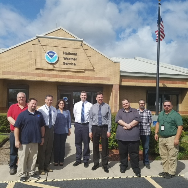 NWS Brownsville/Rio Grande Valley staff photo, November 2017