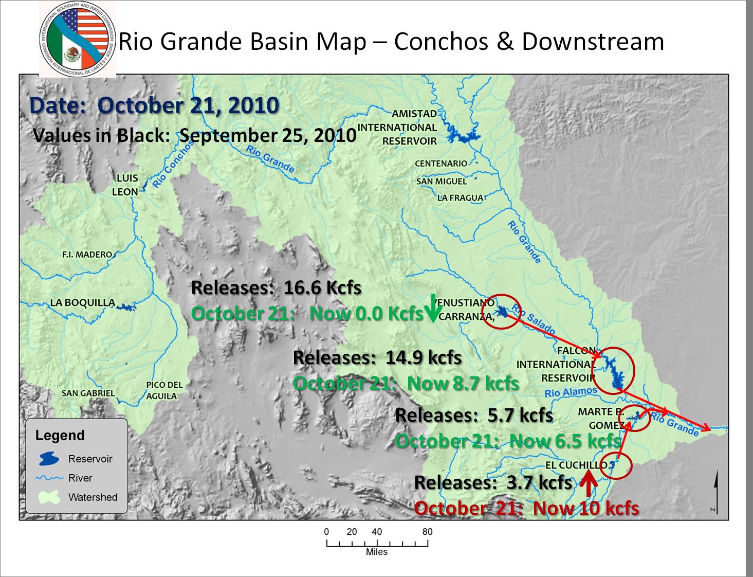 Rio Grande Risen Again Heavy Rainfall And Upstream Releases - Us map rio grande