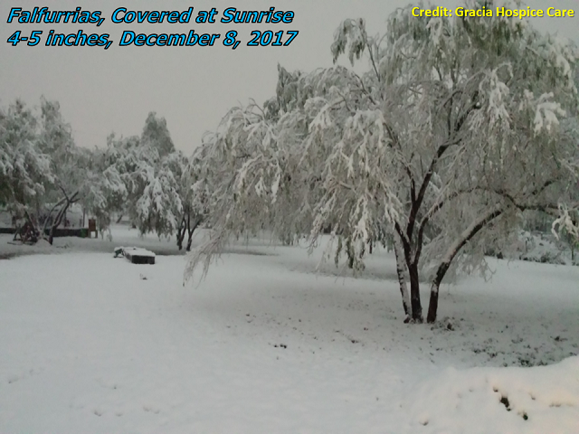 Weather Christmas Valley Oregon.Rgv Receives Widespread Snow December 8th 2017
