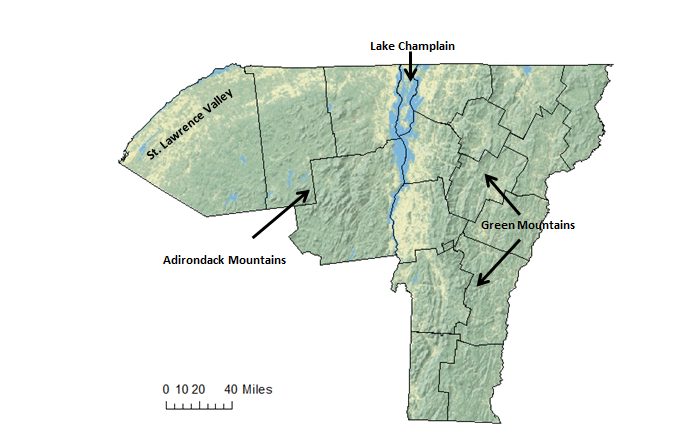 Understanding the Spatial and Temporal Variability of Vermont and ...