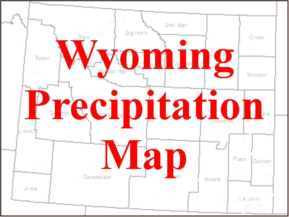 CoCoRaHS Wyoming Map