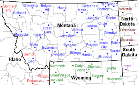 Montana Severe Weather Awareness Week