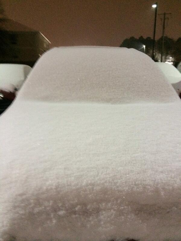 Snowfall And Ice Janurary 28 29 2014