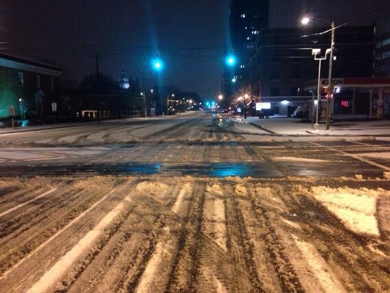 Snowfall and Ice Janurary 28-29 2014