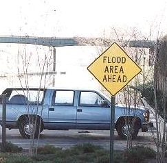 In flood areas, be prepared before flooding occurs!