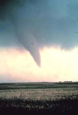 Large Tornado funnel