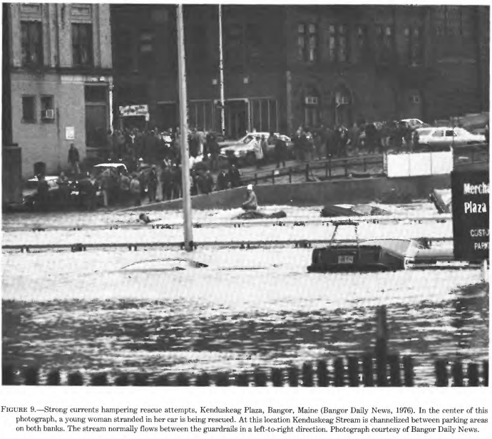 Bangor historic flood for Motor city bangor maine
