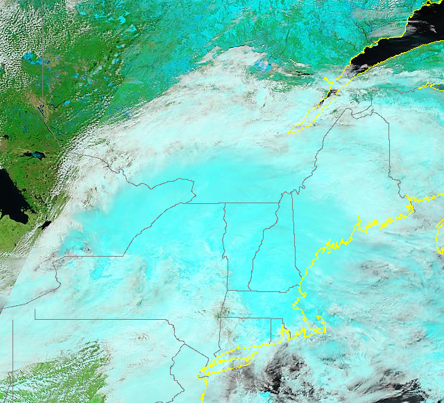 MODIS False Color Imagery