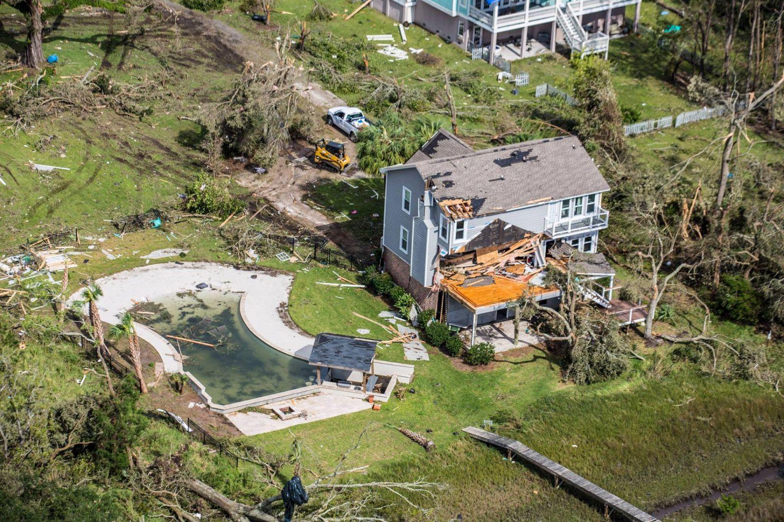 Johns Island, SC Tornado - September 25, 2015
