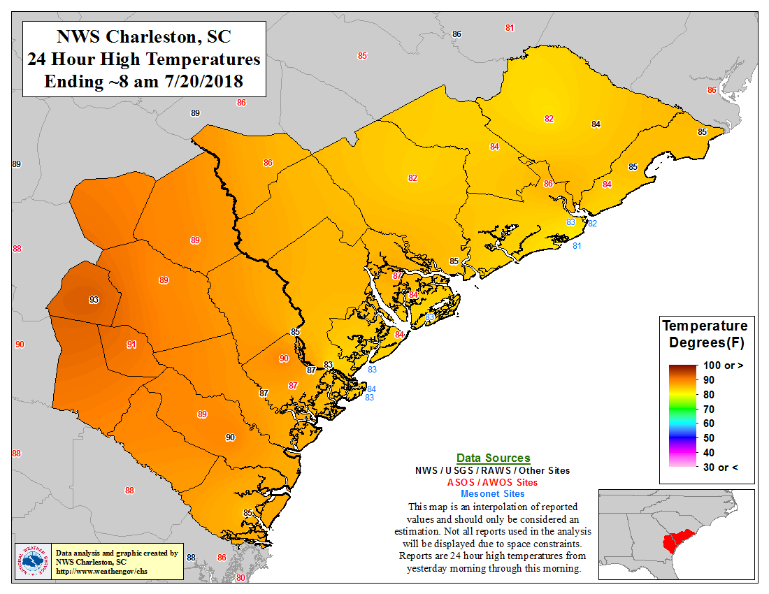 Observed Temperature and Precipitation Maps