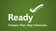 Ready.gov logo, click to go to ready.gov
