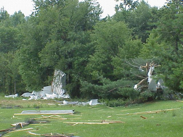 July 10, 2006 Richland, Ashland F1 Tornado Pictures