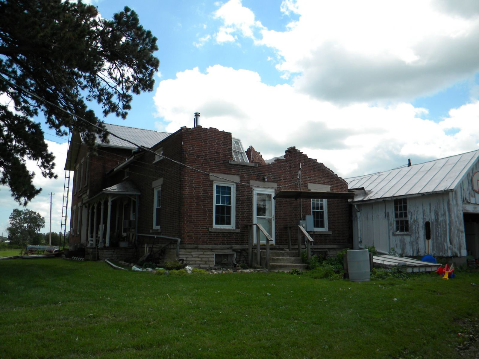 July 10, 2013 storm damage