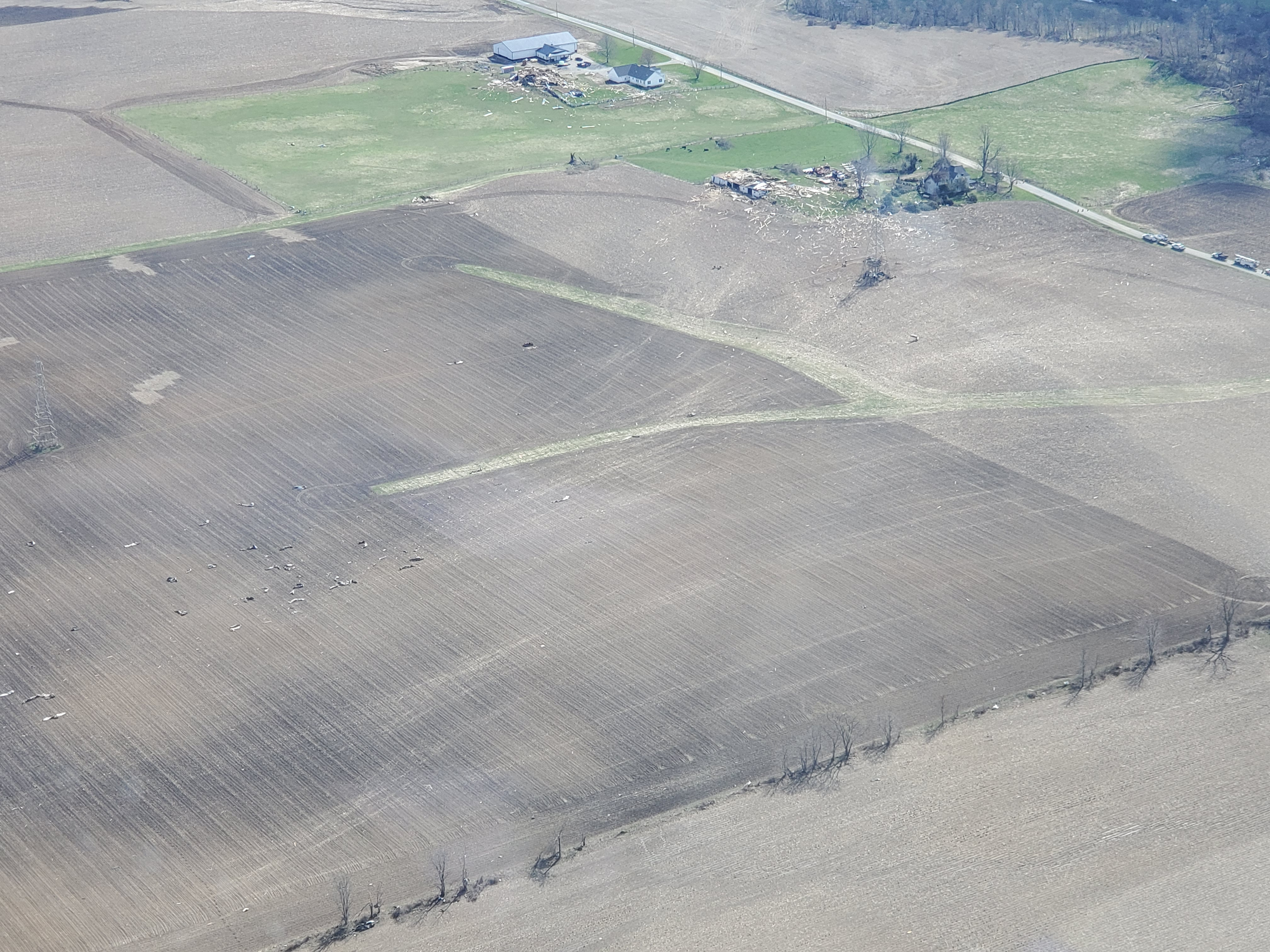flyover photos courtesy of WEWS Brian Shaw Shelby, OH April 14, 2019