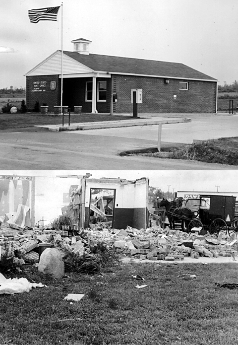 Atlantic Post Office - Before and After