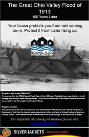 Great Ohio Valley Flood of 1913 Flood Insurance Poster
