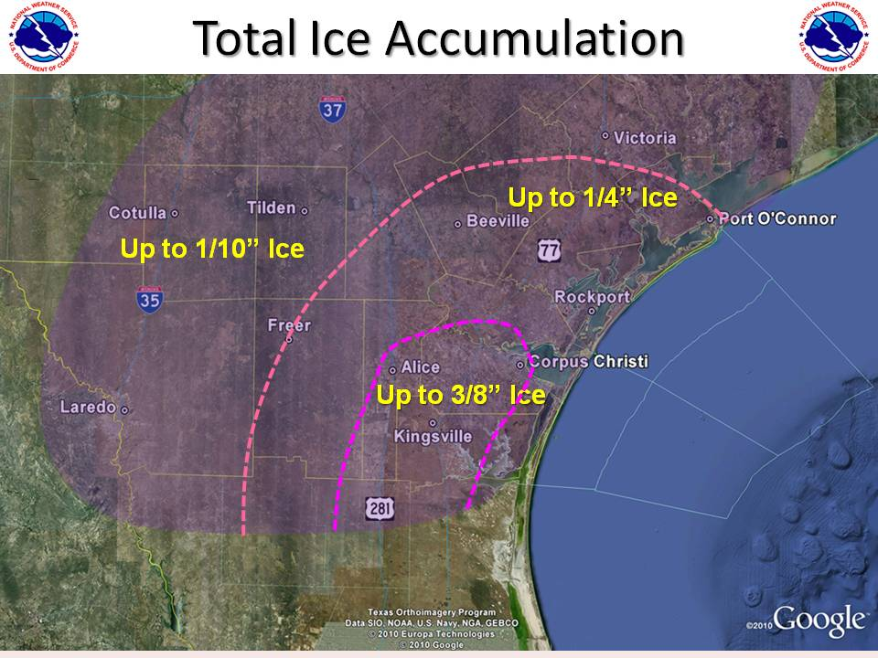 Total Ice Accumulations