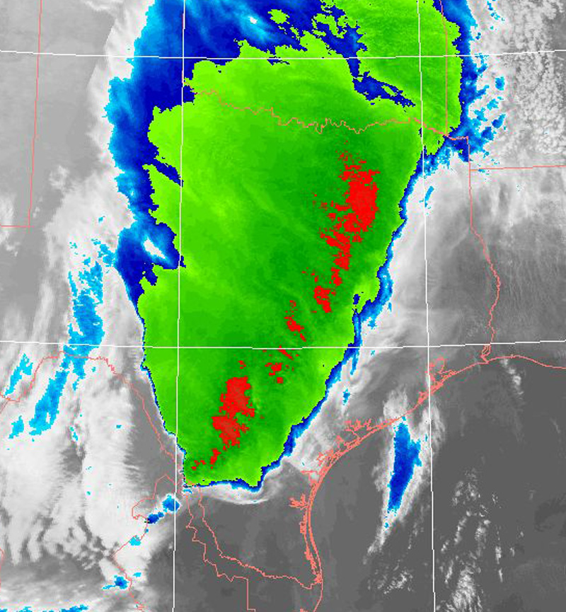 Severe Squall Line March 20 2012