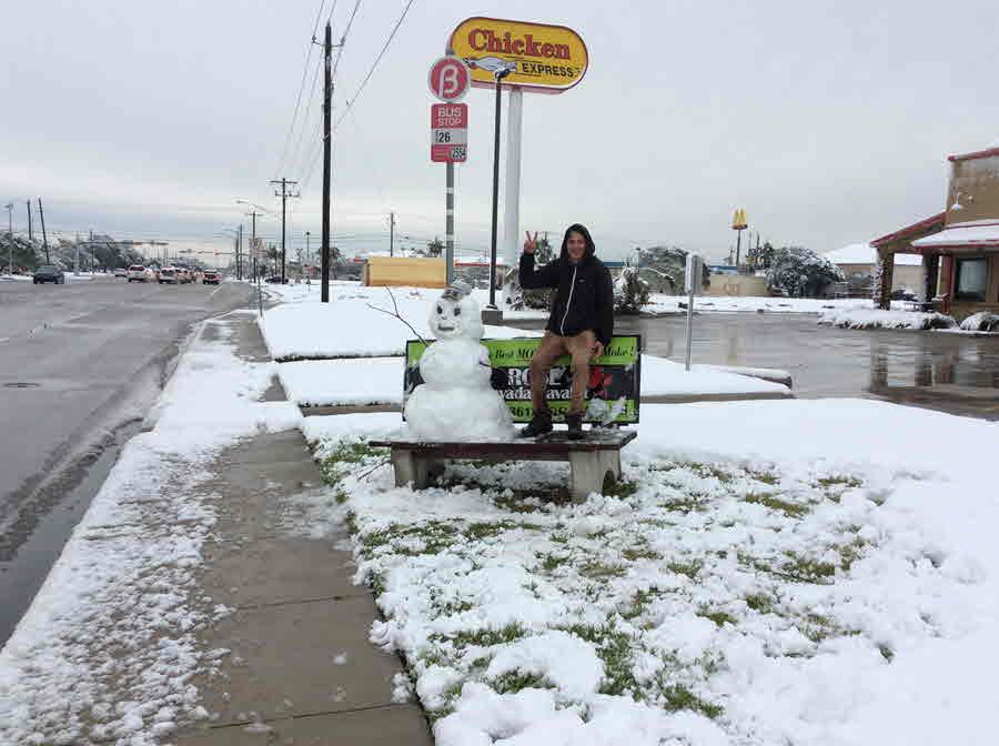 Bus Stop Cimmaron Rd Near Saratoga