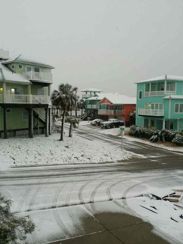 Port Aransas Snow