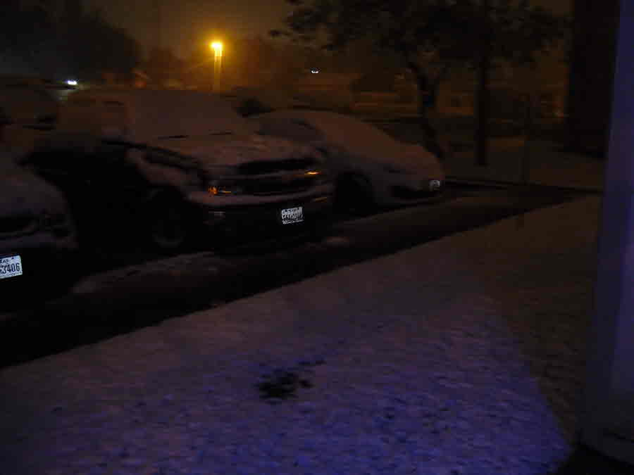 Victoria: Car covered in snow - Photo Credit: Terrry Turner