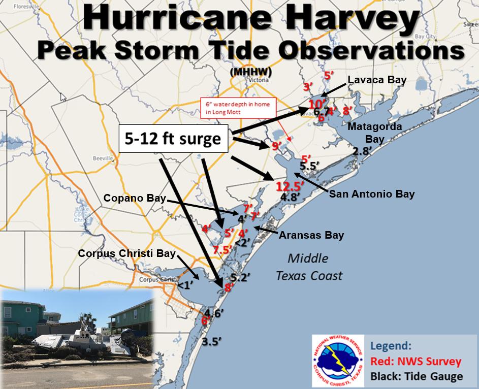 Major Hurricane Harvey August 25 29 2017