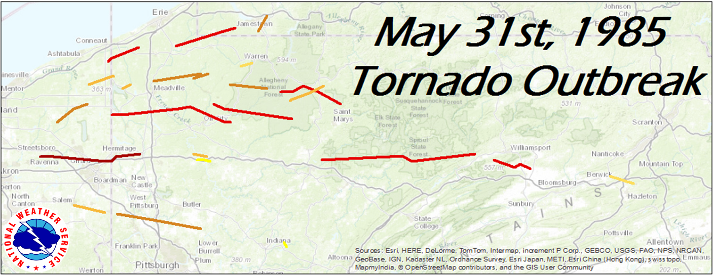 May 31 1985 Tornado Outbreak 30th Anniversary