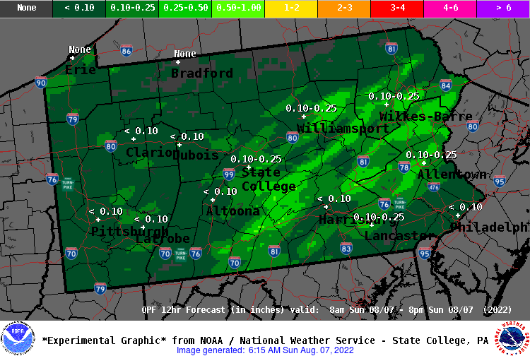 12 Hour QPF Forecast - Period 2