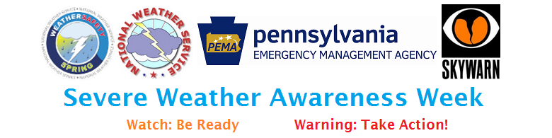 Severe Weather Awareness Week Banner