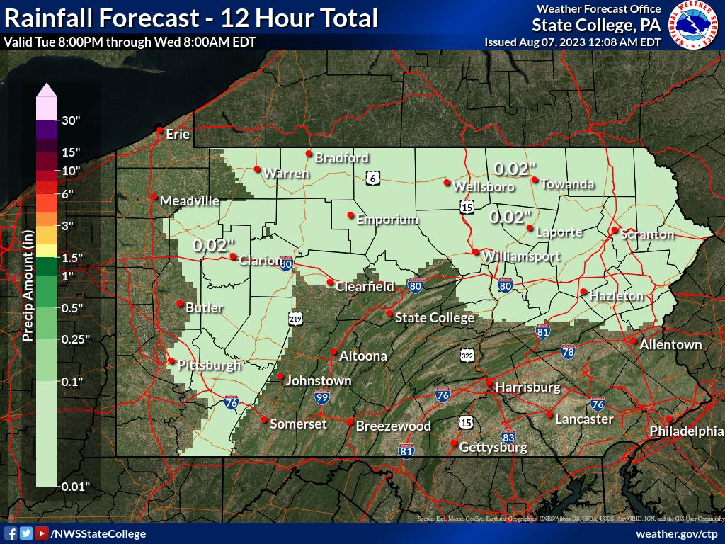 48 to 60 hour QPF forecast