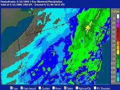 Precipitation Analysis Page - Interactive Maps, Live Data