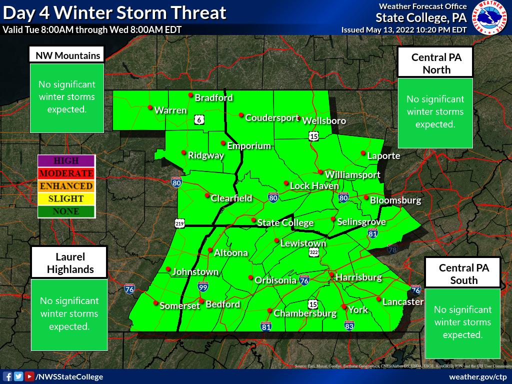 Day 4 Winter Storm Threat
