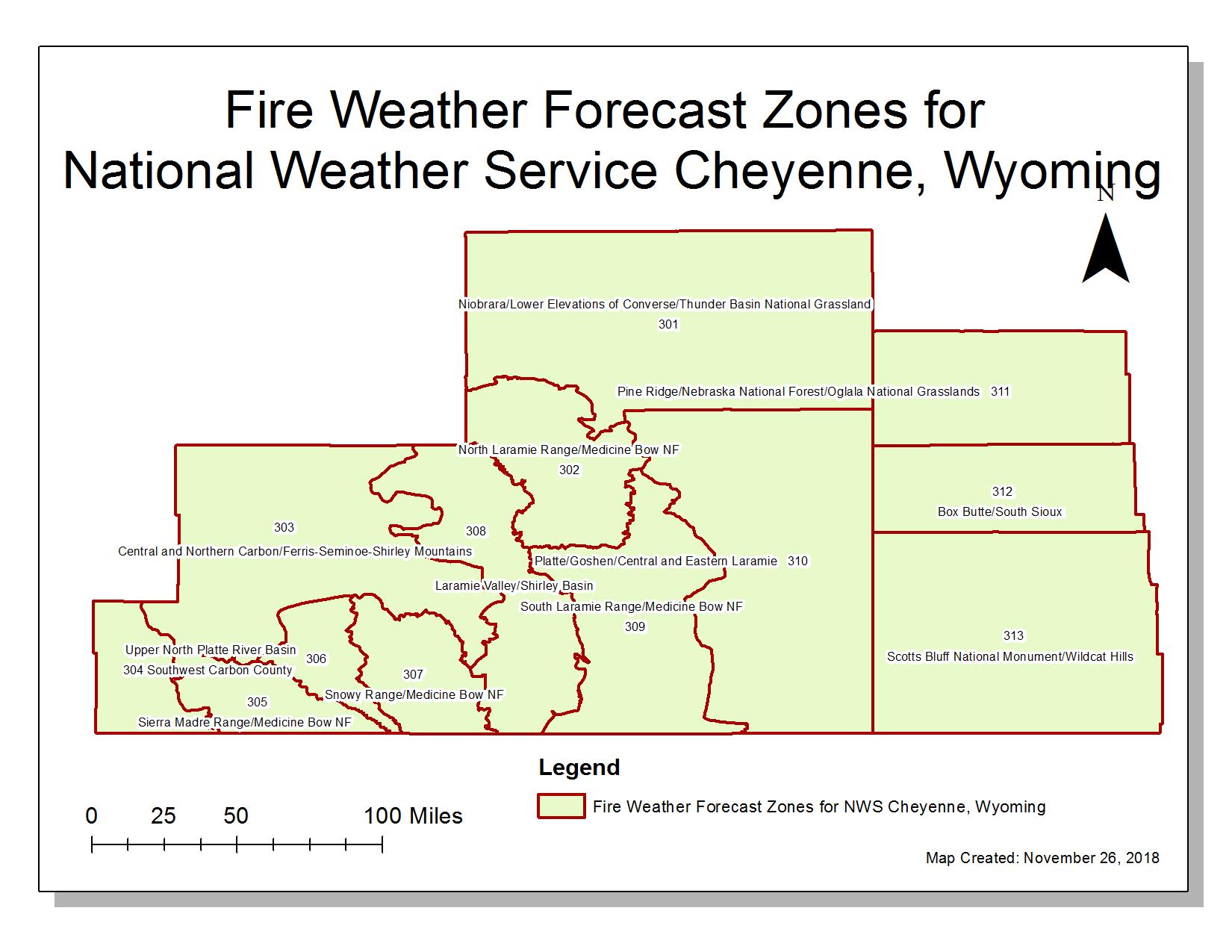 NWS Cheyenne Forecast Office Information on