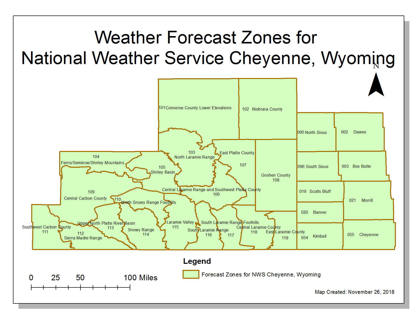 Nws Cheyenne Forecast Office Information