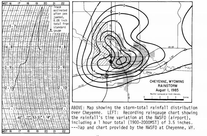 August 1, 1985 Cheyenne Flood