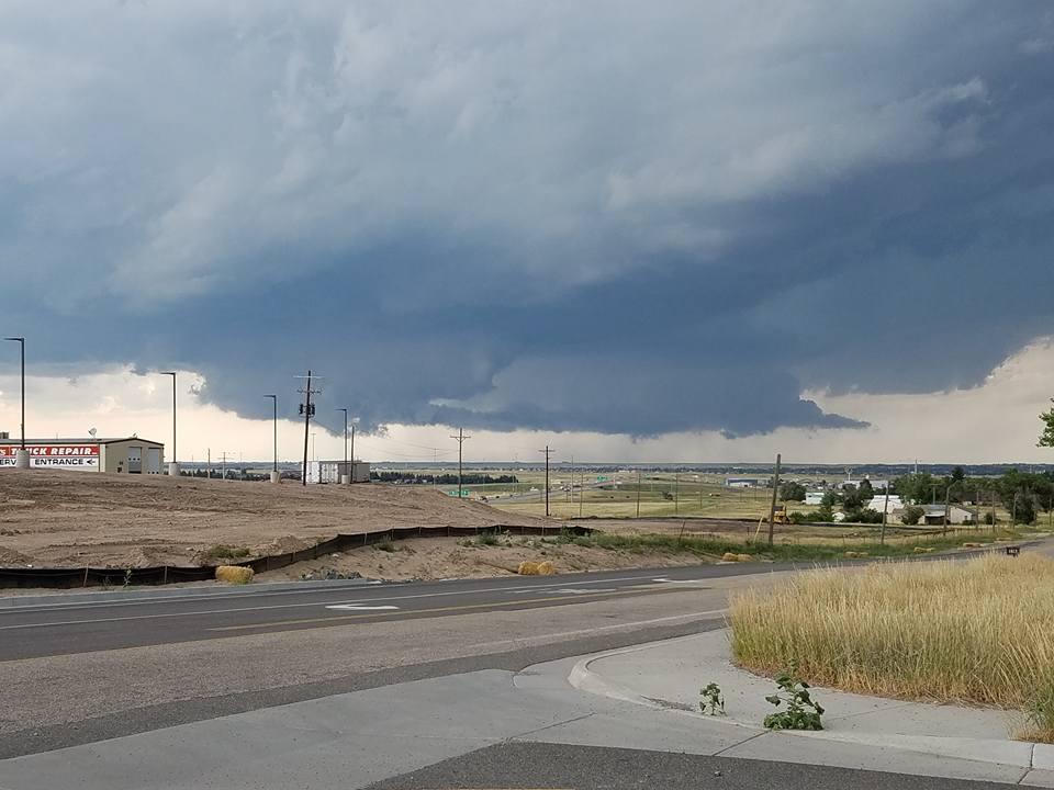 July 29, 2016 Cheyenne, Wyoming Hailstorm