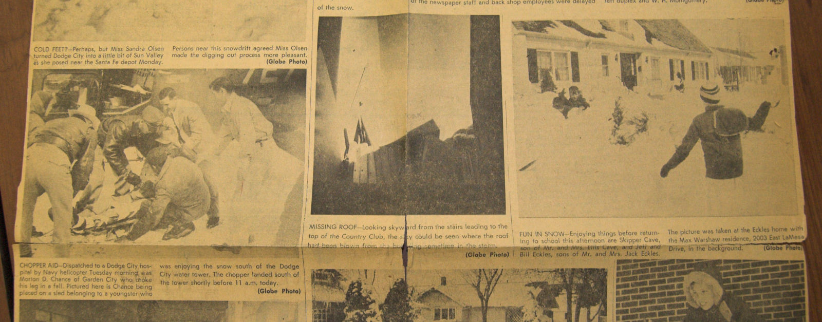 60th Anniversary of the March 23-25, 1957 Blizzard