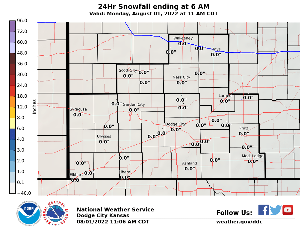 Latest Snowfall Image